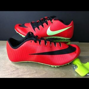 Nike Zoom Jafly Fly Red Track Spikes 865633-663